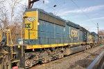 CSX 8245 fourth on Q404